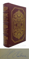 Stephen E. Ambrose NIXON Signed Easton Press 1st Edition 1st Printing