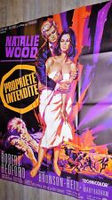PROPRIETE INTERDITE  ! natalie wood r redford  affiche cinema