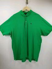 New Sean John Mens Green Polo Shirt 3xl