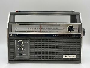 VINTAGE SONY TFM-7300W FM/AM RADIO WORKS EXCELLENT CONDITION!!
