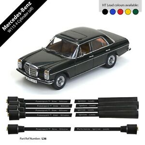 Mercedes-Benz W115 4 Cylinder Performance Double Silicone 8mm HT Leads