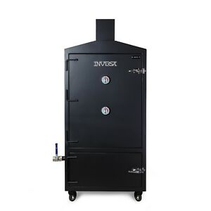 BRAND NEW DRUMBECUE INVERSE REVERSE FLOW COMMERCIAL CHARCOAL SMOKER