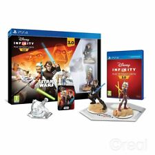 neuf disney infinity 3.0 PS4 STAR WARS LOT Initial figurines SCELLÉ PAL Officiel