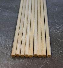 """WWS Balsa Wood Dowel 6.5mm (1/4) Diameter 305mm (12"""") Long - 9 Pack – Model"""