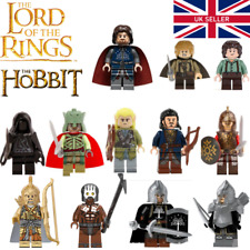 36 custom stickers CASTLE KINGDOMS DWARF LORD OF THE RINGS lego torso size