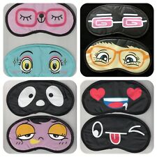 Eye Mask Sleep Travel Masks Sleeping Blindfold aid Funny Naughty Novelty gift