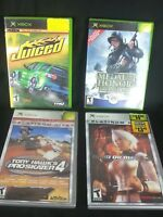 X Box Games Set of 4 Dead or Alive 3 Medal of Honor Frontline Juiced Tony Hawk