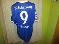 "FC Schalke 04 Adidas Heim Trikot 2012/13 ""GAZPROM"" + Nr.9 Prince Gr.XXL Neu"