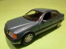 MINICHAMPS  MERCEDES BENZ C180 C280 - BLUE 1:43 - RARE SELTEN - EXCELLENT