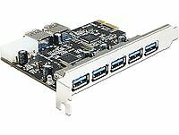 Delock 89355 PCI Express Card > 5 x external + 2xinternal USB 3.0 USB-Adapt ~D~