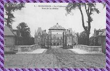 Carte Postale - MARCHAIS - le château - vue de la grille