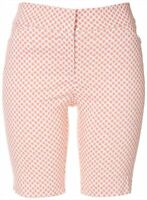 ATTYRE Womens Dotted Bermuda