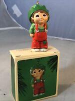 NEW Hallmark Keepsake Christmas Ornament Kit Elf 1984