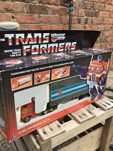 Transformers Optimus Prime Autobot with Box