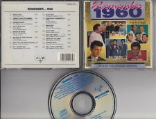 REMEMBER 1960 CD  FUN RECORDS-BR Paul Anka Ricky Nelson Everly Brothers Dion