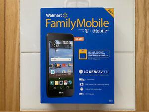 NEW Walmart Family Mobile LG Rebel 2 4G LTE Smartphone -  No Contract / Prepaid