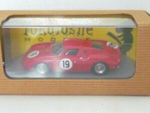 Tokoloshe Models - Ferrari 250 LM - N°19 - Prove Le Mans 1964.