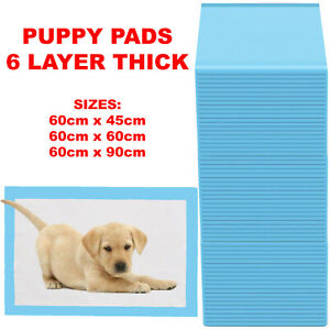 HEAVY DUTY LARGE PUPPY PET TRAINING WEE PEE TOILET PADS PAD FLOOR MATS DOG CAT