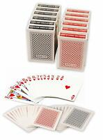 Value Pack 12 Decks Paper Playing Cards with Plastic Coating Bridge Size Regular