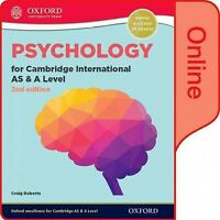 Psychology for Cambridge International As and a Level : Online Book, Hardcove...