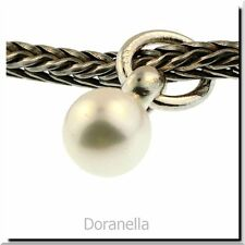 Authentic Trollbeads Sterling Silver 51736 Freshwater Pearl Tassel :1
