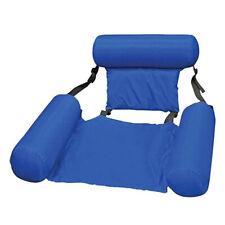 Wasserliege Floating Wasserhängematte Luftmatratze Wasser Poolsitz Schwimmsessel