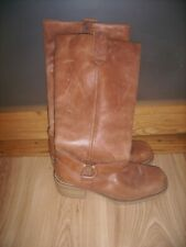 Ladies Brown Leather boots size 7/41 by Cherokee