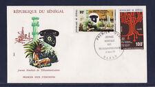 ASg/ Sénégal    enveloppe  1er jour  journée des télécommunications   1977