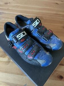 SIDI Vintage cycling shoes size 41  fitted with Look Keo Cleats
