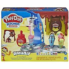 Play-Doh Kitchen Creations Drizzy Ice Cream Playset Featuring Drizzle Compound &