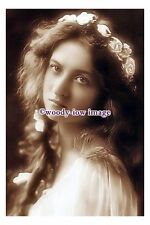 bc1097 - Silent Film & Stage Actress - Maude Fealy - photograph 6x4