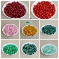 Natural Gemstone Round Spacer Loose Beads Assorted Stones 4mm 6mm 8mm 10mm 13mm
