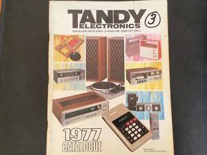 TANDY ELECTRONICS 1977 CATALOGUE