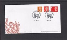 GB 2015 Machin Definitives 10p 1st 1stLL M15L FDC First Day Cover Windsor pmk