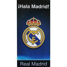 REAL MADRID FC LARGE VELOUR BATH TOWEL  BEACH GYM SWIM 100% COTTON BATH & BEACH