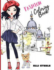 Fashion Coloring Book: Awesome fashion coloring book with fun designs and