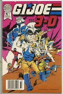 G.I Joe 3-D 1987 series # 1 fine comic book