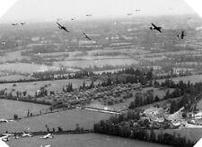 6x4 Photo ww116F Normandy USA Paratroopers 82nd Air Op Elmira Gliders Waco M