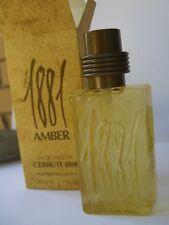 1881 AMBER CERRUTI EAU DE TOILETTE 50 ml natural spray RARE ORIGINAL