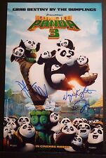 "KUNG FU PANDA 3 - Cast(x3) Authentic Hand-Signed ""DUSTIN HOFFMAN"" 11x17 Photo"
