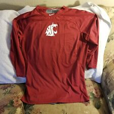 Washington State Cougars Performance Shirt - Large - Nike Hypercool - Team Issue