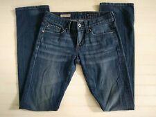 AG Jeans Womens Size 24R x 34 Tomboy Boyfriend Fit Straight Leg Medium-Dark Wash