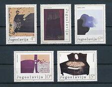 Yugoslavia 1828-32 MNH, Paintings, 1986