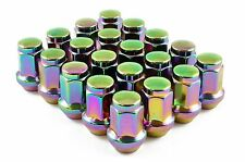 CAPPED WHEEL NUTS STEEL NEO CHROME M12 x 1.5 fits TOYOTA SUPRA CELICA MR2