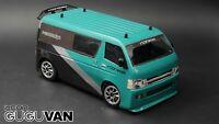 Rcon Gu Gu Van Clear Lexan Body For Tamiya M Chassis 210mm WB - M01 M02 M03 M05