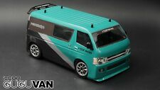 Rcon Gu Gu Van Clear Lexan Body For Tamiya M Chassis 210mm WB - M01 M02 M03 M05
