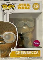 Funko Pop! Star Wars Hans Solo 239 Chewbacca With Glasses Flocked