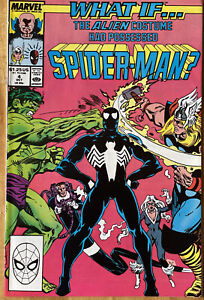 What if…The Alien Costume Had Possessed Vol.2 #4 (1989 Marvel)