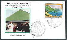 1987 VATICANO VIAGGI DEL PAPA CERIGNOLA - SV