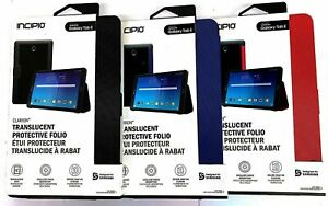 "Incipio Clarion Hybrid Folio Case W/ Clasp Closure for Samsung Galaxy Tab E 9.6"""